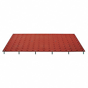 ADA Pad,Colonial Red,2 ft. x 2 ft.