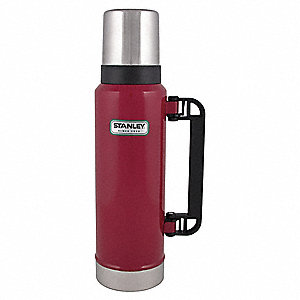 1.4 qt. Red Insulated Bottle