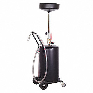 PORTABLE OILDRAIN 18GAL. 14 1/2IN.