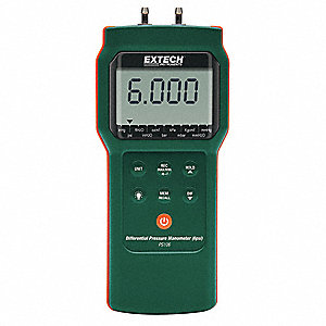 Pressure Manometer, 6 psi