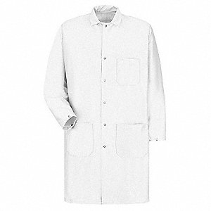 Anti-Static Lab Coat, White, XL
