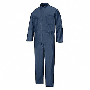 Anti-Static Coveralls, Navy, S