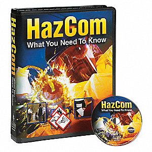 Training DVD,  DVD,  HazCom,  English,  20 min.