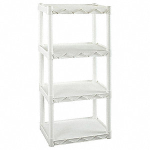 Shelving,Open,Freestanding,Poly,49""
