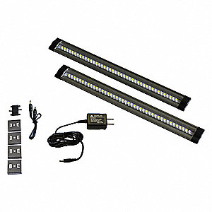 "12"" x 1-1/4"" x 3/8"" Non-Dimmable LED Striplight with 535 Lumens"