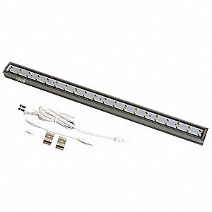 "19"" x 1-1/2"" x 1"" Non-Dimmable LED Striplight with 237 Lumens"