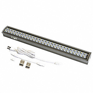 "12"" x 1-1/2"" x 1"" Non-Dimmable LED Striplight with 393 Lumens"