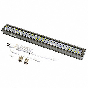 LED Linkable Cove Light,3000K,12 In,5.2W