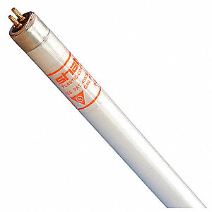 "Linear Fluorescent Lamp, Miniature Bi-Pin (G5) Base Type, 46"" Length, 30,000 hr. Average Bulb Life"