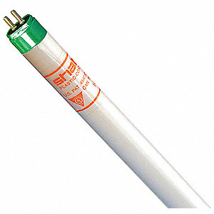 "46"" 49 Watts Linear Fluorescent Lamp, T5, Miniature Bi-Pin (G5), 5000 Lumens, 4100K Bulb Color Temp."