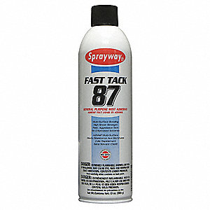 20 oz. General Purpose Spray Adhesive with Temp. Range (F) of 0° to 100°