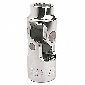 Universal Joint, 1/2 in. Dr, 2-3/4 in.
