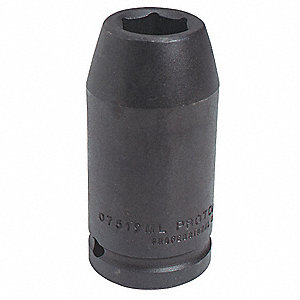 Impact Socket,3/4 In Dr,27mm,12 pt