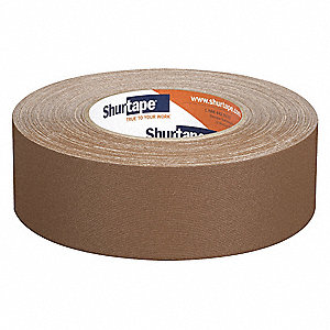 Industrial Gaffer's Tape, 48mm X 50m, 10.75 mil Thick, Brown Coated Cloth, 24 PK