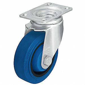 "5"" Light-Medium Duty Swivel Plate Caster, 400 lb. Load Rating"