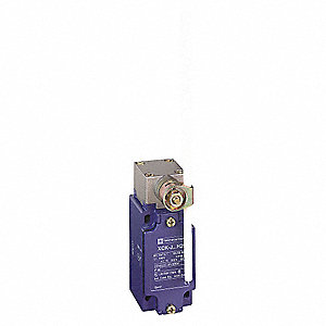 Rotary, Adjustable Rod Heavy Duty Limit Switch&#x3b; Location: Side, Contact Form: 1NC/1NO, CW, CCW Movem