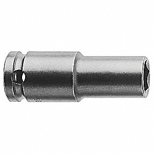 IMPACT SOCKET, 3/8IN DR, 5/16IN 6PT