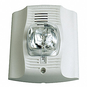 Wall Chime Strobe,White