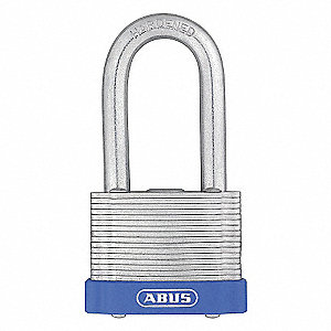 LAMINATED STEEL PADLOCK,2IN SHACKLE
