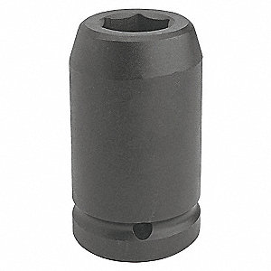 IMPACT SOCKET 1 DR 33MM 6 PT DP