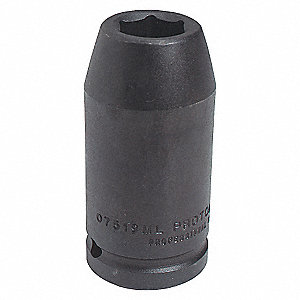 IMPACT SOCKET 3/4 DR 19MM 12 PT