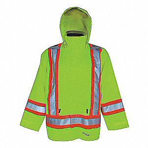 VIKING HI-VIS 3IN1 JACKET GRN XL