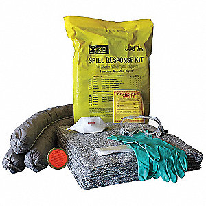 Spill Kit, Truck and Vehicle, 8 gal.,PK2