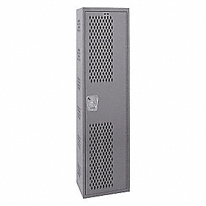 WELDED VENTED LOCKER 1-TIER 1-WIDE