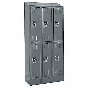 RB II LOCKER 2TIER 3WIDE ASSEMB