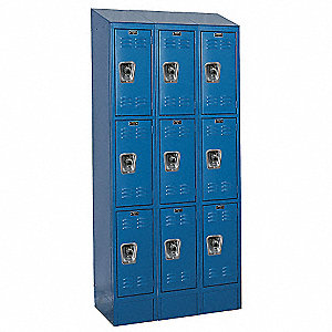 RB II LOCKER 3TIER 3WIDE ASSEMB