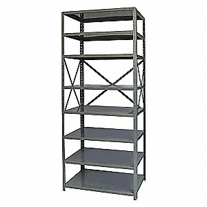 FREE STANDING OPEN SHELVING