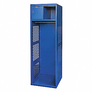 OPEN-FRONT LOCKER 1WIDE KD