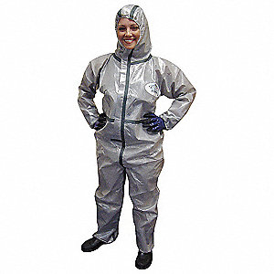 CHEMSPLASH 2 COVERALLS W/HOOD XL