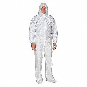 COVERALL HOOD AND BOOTS 2XL