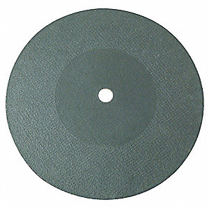 "12"" Type 1 Aluminum Oxide Abrasive Cut-Off Wheel, 7/8"" Arbor, 0.125""-Thick, 5100 Max. RPM"