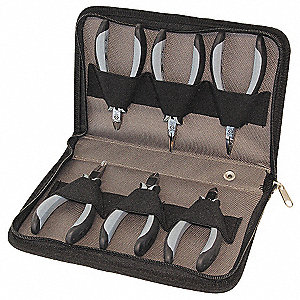 ESD PLIERS CUTTERS SET 6-PIECE
