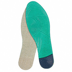 Men's Anti-Fatigue Flat Insole, Size: 8 to 12