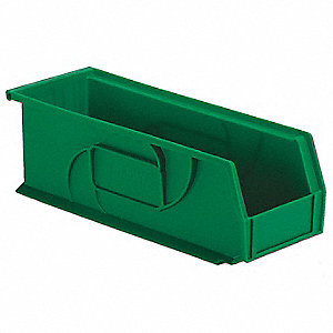 PART BIN,5HX5-1/2WX14-3/4D,GREEN