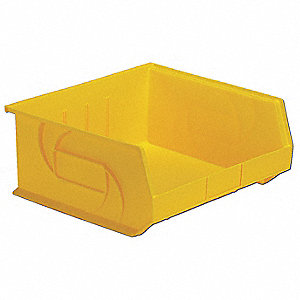 PART BIN,7HX16-1/2WX14-3/4D,YELLOW
