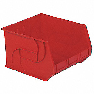 PART BIN,11HX16-1/2WX18D,RED