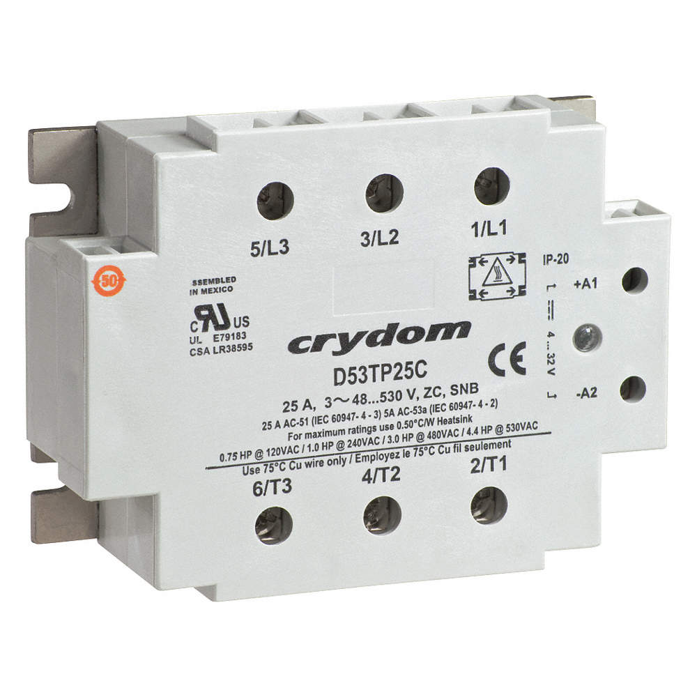 Crydom 3 Pole Surface Mount Solid State Relay Max Output Amps W Ac Zoom Out Reset Put Photo At Full Then Double Click