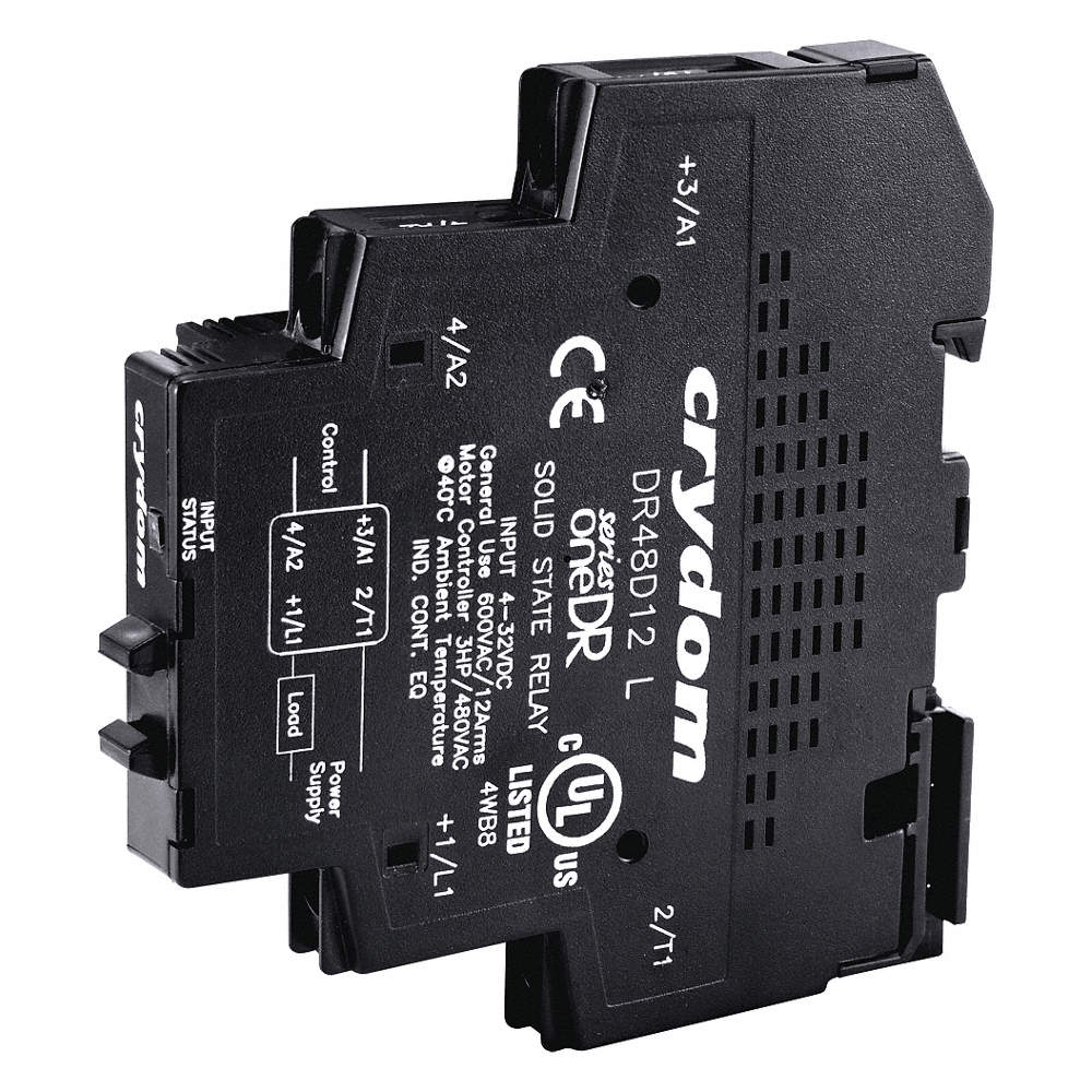 Crydom 1 Pole Din Rail Mount Solid State Relay Max Output Amps W Vs Scr Zoom Out Reset Put Photo At Full Then Double Click