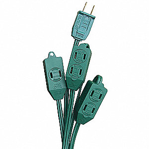 Extension Cord,3 Outlet,125V