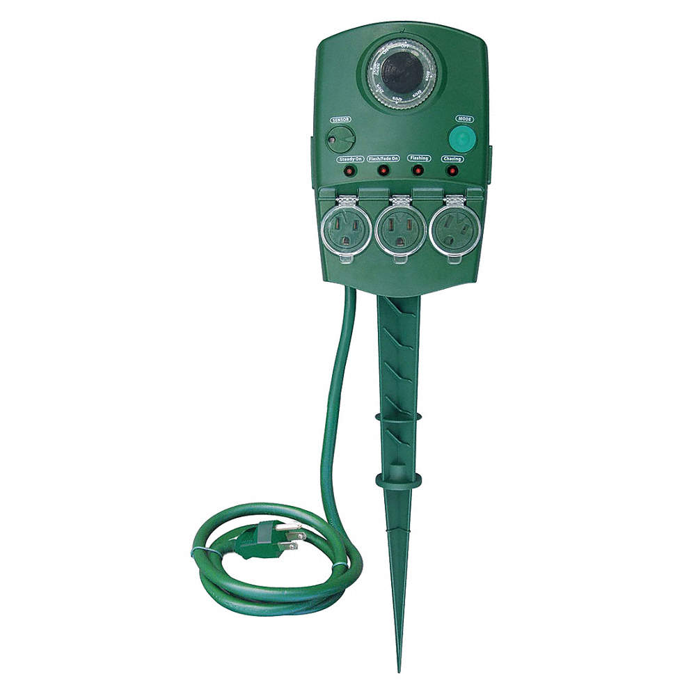 Zoom Out Reset Put Photo At Full Then Double Click 120vac Programable Outdoor Stake