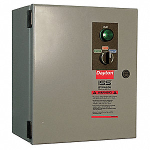 24VAC Key Pad NEMA Circuit Breaker Combination Starter, Enclosure NEMA Rating 12, 17 Amps AC