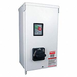 24VAC Key Pad NEMA Circuit Breaker Combination Starter, Enclosure NEMA Rating 3R, 32 Amps AC
