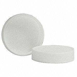 Polypropylene Screw On Narrow-Mouth Closure, White, 1700 PK
