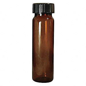 Type I Borosilicate Glass Sample Vial, 10 dram 144PK