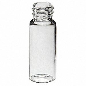 Type I Borosilicate Glass Sample Vial, 0.54 dram 1000PK