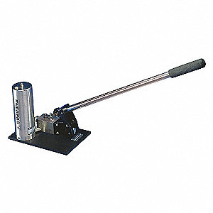 HAND PUMP, STAINLESS, 0-10,000 PSI